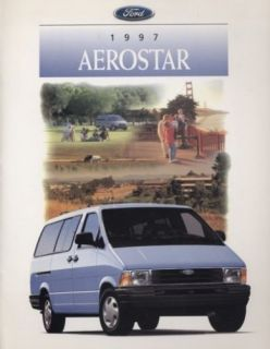 1997 Ford Aerostar USA Deluxe Sales Brochure Book Van
