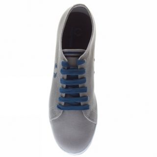 Fred Perry Kingston Twin Tipped UK Size Grey Trainers Shoes Mens New
