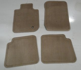 NEW OEM FACTORY FORD EXPLORER MOUNTAINEER CARPET FLOOR MATS SET TAN NO