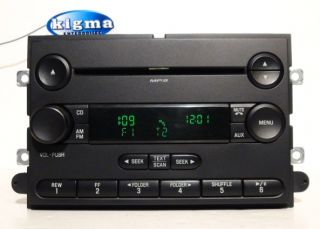 Ford F150 2007 2008 single disc  CD player radio (two plugs) TESTED