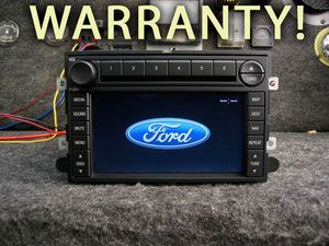 FORD NAVIGATION 6 CD  CHANGER RADIO F150 F250 EXPEDITION MUSTANG 06