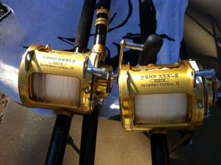 Offshore Big Game Fishing Rods Reels