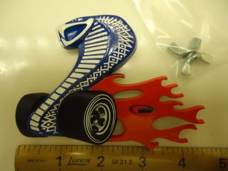Ford Cobra Jet Grille Grill Emblem Torino Mustang