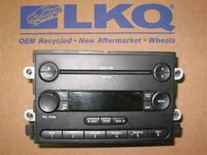 06 ford freestyle cd 6  radio cd player oem lkq