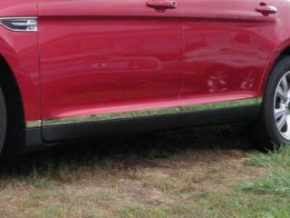 Ford Taurus 2010 2011 8PC Stainless Rocker Panel Trim