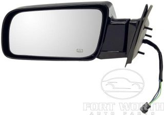 Chevy GMC Pick Up Truck Tahoe Yukon Suburban Left Driver Power Mirror