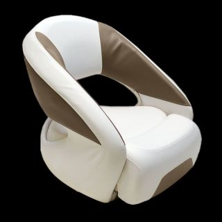 Four Winns M1840AB White Brown Boat Bolster Seat Single