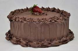10 Chocolate Frosted Cake Realistic Fake Food Fun Party Faux Dessert