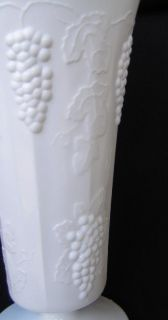 Indiana L Glass Harvest Grape Milk Glass Large Tumbler 6 inches Tall