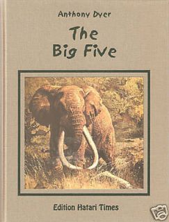 Dyer Anthony African Big Game Hunting Book Big Five New