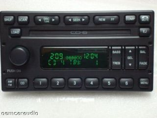 Ford Crown Victoria Mercury Grand Marquis 6 Disc CD Changer Player