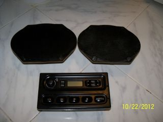 Ford Econoline van factory AM FM radio w 2 original Ford speakers