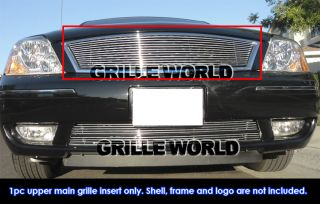 ford five hundred 500 billet grille insert top fitment 05 07 ford five