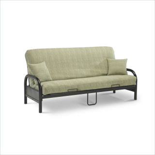 Fashion Bed Group Saturn Full Size Black Futon Frame