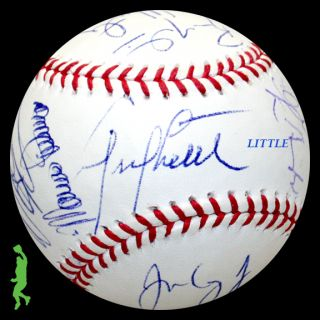 2011 Los Angeles Dodgers Team Signed Auto Baseball Ball