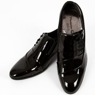 Mens Shoes Formal Casual Dress Loafers Enamel