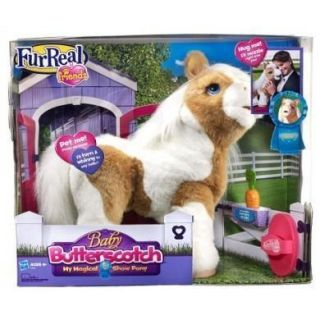 FURREAL FRIENDS BABY BUTTERSCOTCH MY MAGICAL SHOW PONY FUR REAL NEW