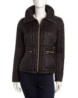 NWT Latest Michael Kors Packable Puffer Coat Jacket Sz Small s Black