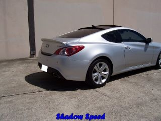 Painted 2013 Genesis Coupe Rear Wings Roof Spoiler for Hyundai RS Type