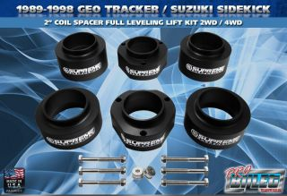 89 98 Geo Tracker/ Suzuki Sidekick 2 Coil Spacer Full Leveling Lift