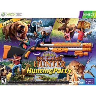 Kinect Cabelas Big Game Hunter Hunting Party Game Sport Gun