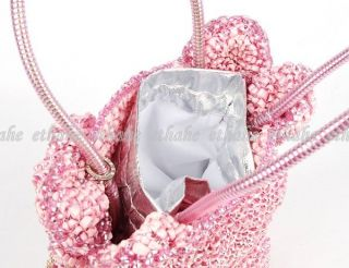 Hello Kitty Shaped Anteprima Hand Wire Bag Pink Eigerd