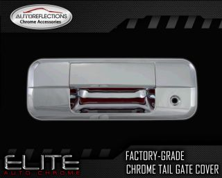 2007 2012 Toyota Tundra Triple Chrome Tail Gate Cover