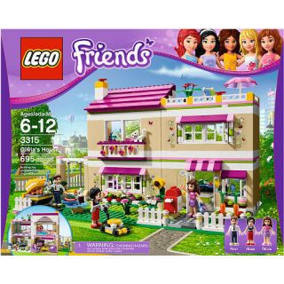 FRIENDS Olivias House 3315 OLIVIA Figure Girls Building Set Blocks