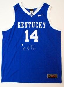 Michael Kidd Gilchrist Signed Kentucky Wildcats Nike Elite Aerographic