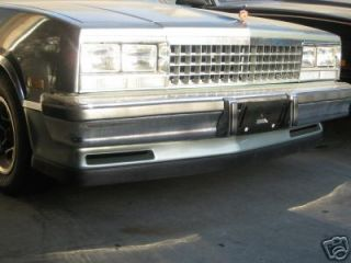 1978 1987 EL CAMINO GMC CABALLERO NEW FRONT AIR DEFLECTOR UNDER