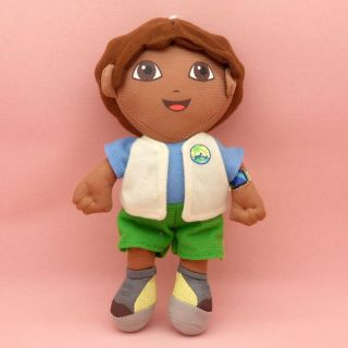Dora The Explorer Go Diego Go Plush Dolls Toy