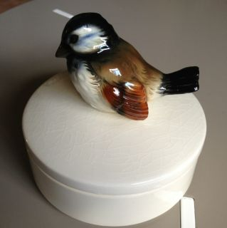 Goebel w Germany Bird Trinket Box Candy Dish