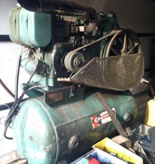 Champion Gas Powered Air Compressor 14 HP Kohler Engine