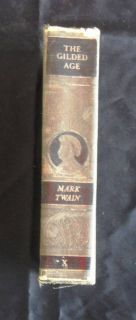 The Gilded Age by Mark Twain 1915 Authorized Edition
