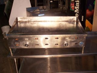 48 Gas Griddle Countertop American Range Heavy Duty