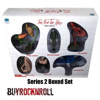 2004 Pink Floyd The Wall Series 2 Figure Box Set of 6 Exclusive Sexual