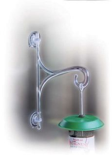 Glass Hanger for Birdfeeders, Windchimes, Hummingbird Bird Feeders