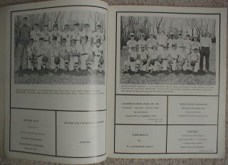 1974 GOODLETTSVILLE Tennessee Dixie YOUTH Little league baseball