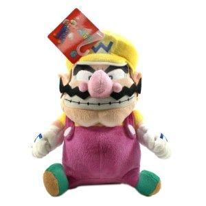 Global Holdings Super Mario Plush 9 Wario