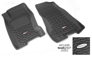 Rugged Ridge All Terrain Front Floor Mats W TL Logo Jeep Grand