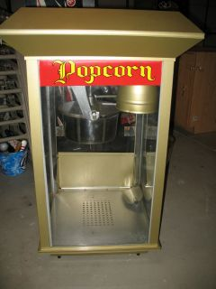 Popcorn Machine Commercial Gold Medal