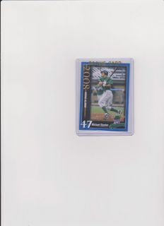 2008 MIKE MICHAEL GIANCARLO STANTON Jamestown RARE MINOR LEAGUE ROOKIE