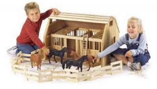 New Barn Stable for Groton Breyer Horses Heirloom Quality
