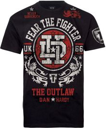 Fear The Fighter Official Dan Hardy UFC Walkout MMA T Shirt