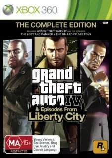 Grand Theft Auto 4 Complete New Xbox360 Game