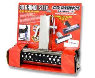 Go Rhino Bumper Hitch Step Polished stainless steel fits 2