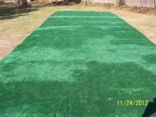 Used Indoor Outdoor Green Carpet Artifical Turf Grass Travel Trailer
