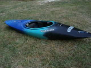 Wavesport Godzilla Kayak Great River Boat