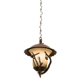 Kalco Ponderosa Three Light Outdoor Hanging Lantern