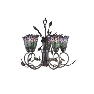 Dale Tiffany Meadowbrook 5 Light Chandelier   TH101051